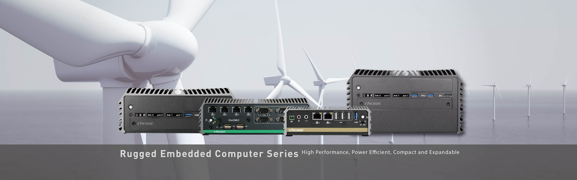 Rugged Fanless Computer