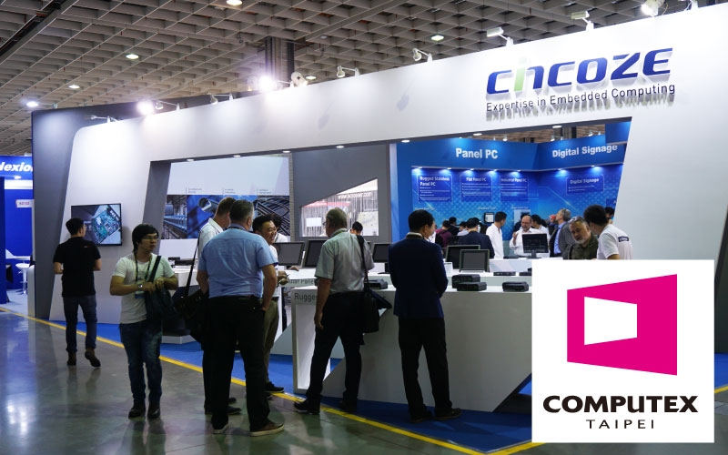 Thank you for visiting Cincoze during COMPUTEX TAIPEI 2017
