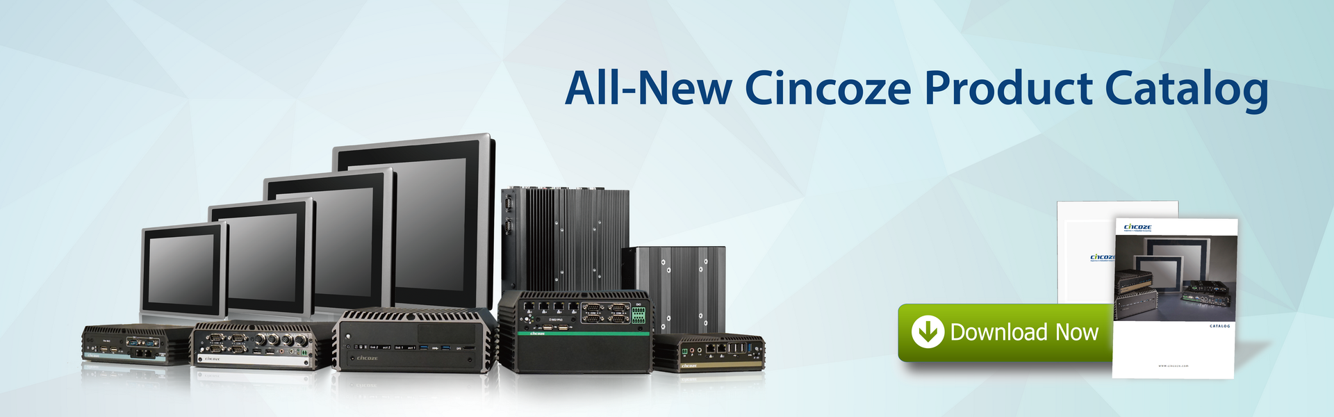 All-New Cincoze Product Catalog